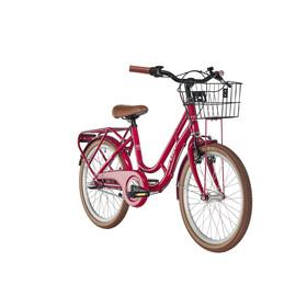 "Ortler Copenhagen Børnecykel 20"" rød"